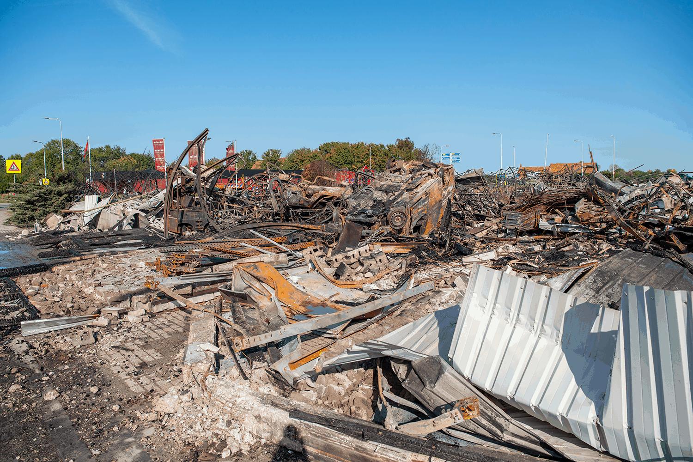 Keukenwinkel Sint-Maartensdijk volledig verwoest na brand